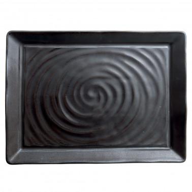 Piatto bistecca Organica bronze