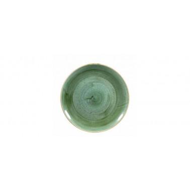 Piatto frutta Stonecast samphire verde