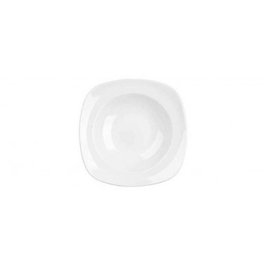 Piatto pasta fondo Xsquared bianco