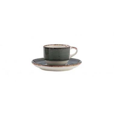 Piatto per tazza caffè Avanos antracite
