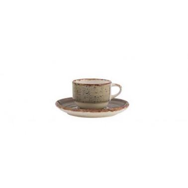 Piatto per tazza caffè Avanos terra