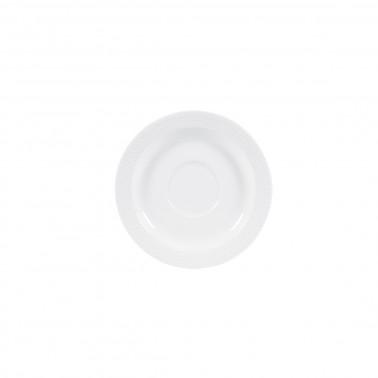 Piatto per tazza caffè Profile bianco