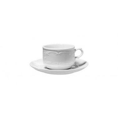 Tazza caffè Flora Bianco