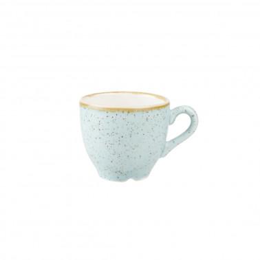Tazza caffè Stonecast azzurro puntinato
