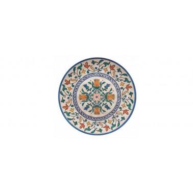 Vassoio/piatto tondo Decoro alhambra