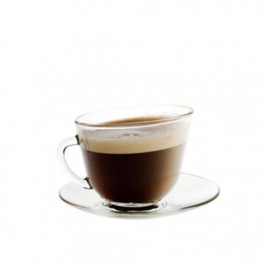 Bicchieri thè e caffè in vetro